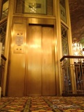 This beautiful elevator was installed in 1979. It's been out of service for a couple of years now.