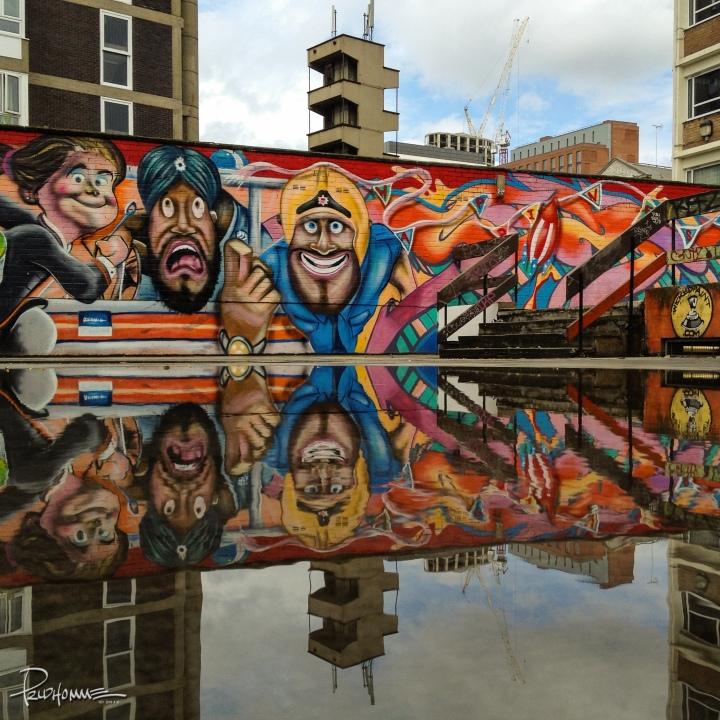 Street art in Old Street London