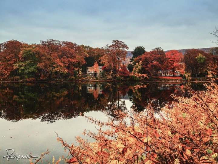 Garrison Pond in the fall, Ft. Montgomery, NY