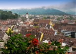 We spend the 4th of July in Freiburg Germany at the foot of the Black Forest.