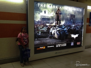 The biggest movie of the year hits overseas (Strasbourg, France).