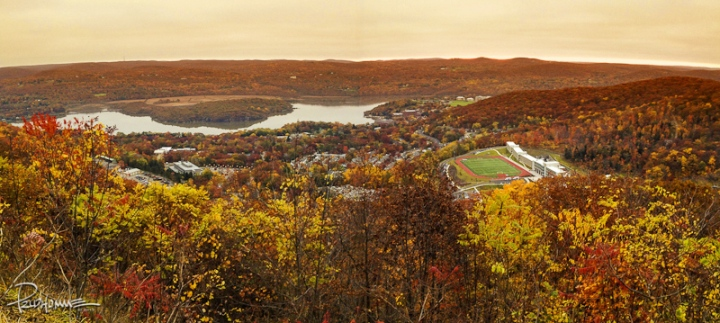 I had to make a stop by the highway overlooking this vista in West Point, NY.