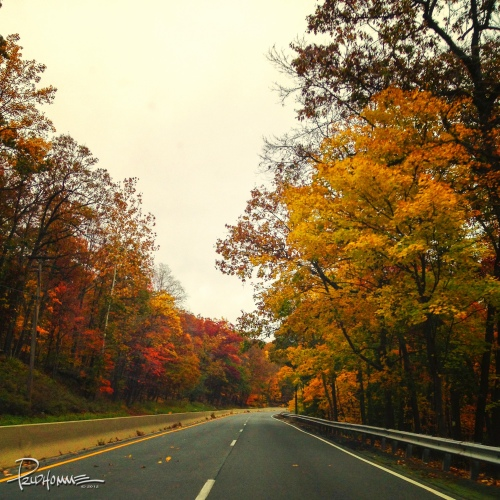 Driving outside Newburgh, NY and surrounding area.