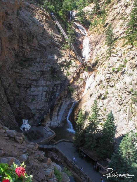 Seven Falls, Colorado Springs.