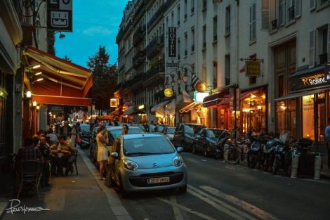 You CAN'T go wrong with any of these creperies along Rue de Montparnasse.