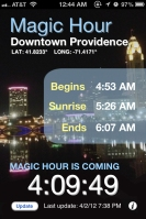Magic Hour app