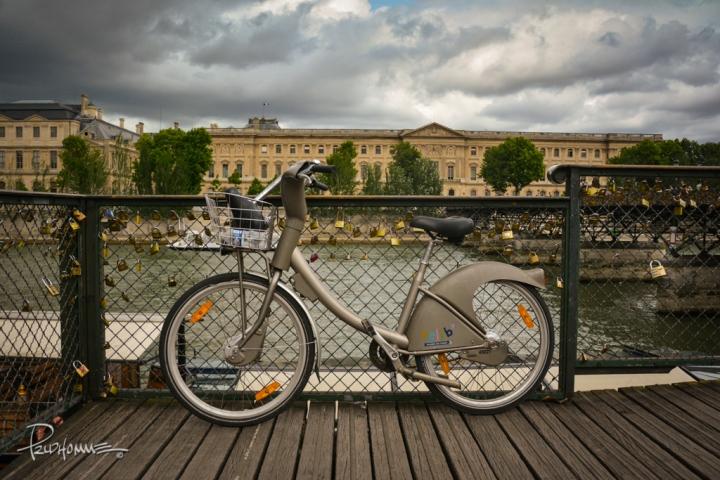 Paris, along the river Seine