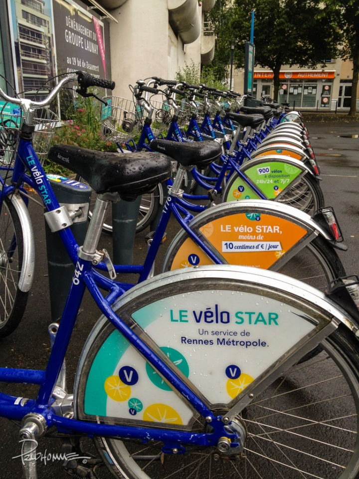 Bikes for rent in Rennes